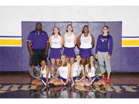 Girls Varsity Tennis 2019