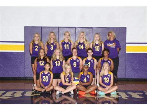 Girls Freshman Volleyball 2019