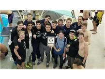 Boys Swim Co-op Win Rolling Meadows Invite