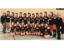 SECTIONAL CHAMPIONS - CHEER - 2018