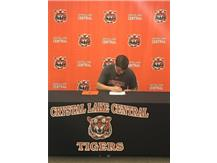Alex signs to continue his academic and athletic career at Bucknell