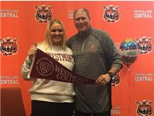 Kat signs with Westmont