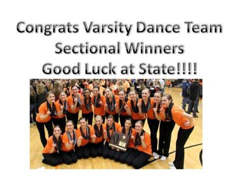 Sectional Winners
