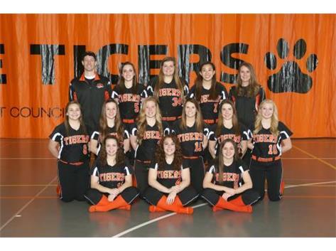 Girls Varsity Softball 2014-15