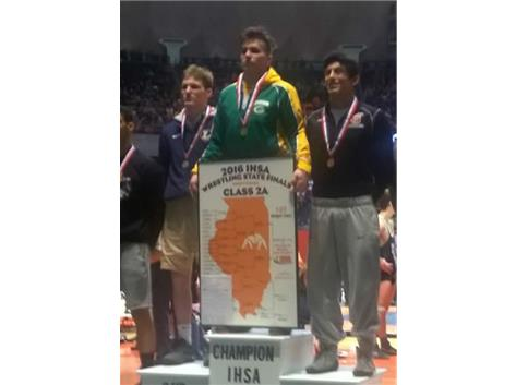 MICHAEL- 3RD PLACE IN STATE 2016