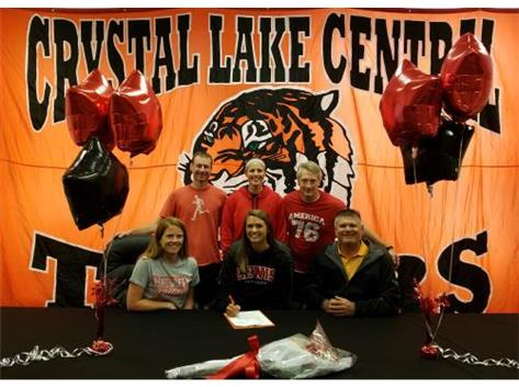 Carrie signs with Lewis University
