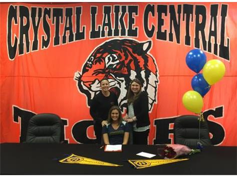 Courtney signs with Augustana