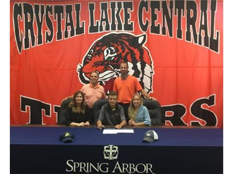 Zach Signs with Spring Arbor University