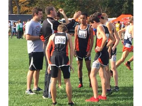 Boys Place 5th in State for Cross Country