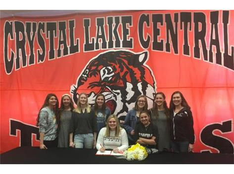 Lexi will continue her education and swim at Oshgosh next year. . . Congrats Lexi!