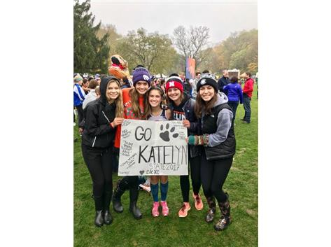 CROSS COUNTRY TEAM SUPPORT AT STATE!