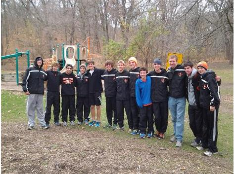 CLC CROSS COUNTRY TEAM TAKES 4TH IN STATE.
