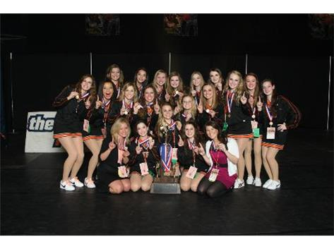 The First IHSA Competitive Dance Title belongs to CLC!!!  CONGRATULATIONS GIRLS!!!!