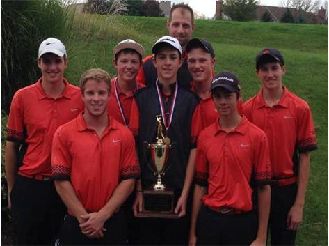 CLC BOYS GOLF FVC CHAMPIONS!