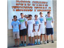 BOYS TENNIS 4TH AT STATE 2014!  BEST FINISH IN HISTORY