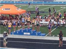 MICHAELA HACKBARTH 2ND PLACE 800M 2014
