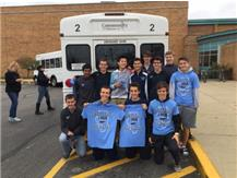 SENDING OFF BOYS XC TO STATE 2015