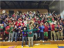 SUPERFANS COME OUT TO SUPPORT ON UGLY SWEATER NIGHT-2016