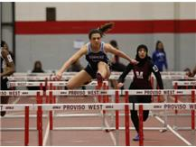 Conference Champion 55m hurdles