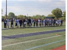 Just some Senior Players and their parents.  We had 22 seniors to recognize this year.