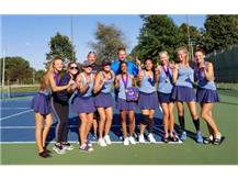 GIRLS TENNIS CHAMPIONS AT BLOOMINGTON INVITE!