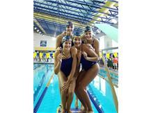 Allie, Makaila, Melanie and Nicki - 3rd Place 200 Yard Medley Relay