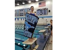 Sarah M. - 5th Place 50 Butterfly