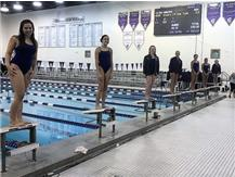 Melina, Erin, Cailyn, Maddie and Karoline! 2nd, 3rd, 5th, 6th and 7th in Diving