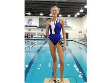 Madeline - 3rd Place 50 Yard Freestyle