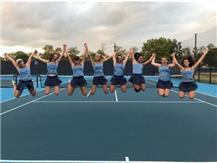 GIRLS TENNIS CELEBRATING 18-9 SEASON IN 2017