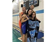 Sophia, Savannah, Isabelle and Gabbie - 1st Place JV 200 Yard Medley Relay