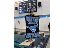 Samantha - 2nd Place JV 100 Yard Freestyle