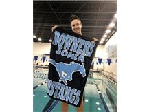 Nicole - 2nd Place Varsity 100 Yard Freestyle