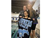 Kaitlyn, Aoife, Samantha and Gabbie - 1st Place JV 200 Yard Freestyle Relay