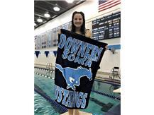 Lauren - 2nd Place JV 100 Yard Backstroke