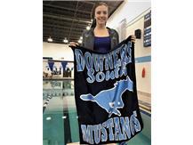 Allie - 2nd Place Varsity 100 Yard Backstroke