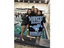 Nicole, Makaila, Jorie and Annie - 1st Place Varsity 400 Yard Medley Relay