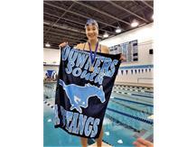 Nicki - 6th Place 100 Yard Backstroke