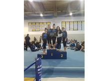 GYMNASTS ARE VAR AND JV GOLD CHAMPIONS 2018