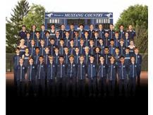 BOYS CROSS COUNTRY 2020 Team photo was created digitally