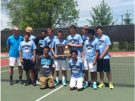 2014 BOYS TENNIS SECTIONAL CHAMPS!