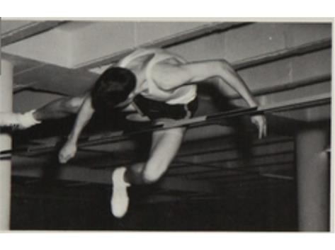 HIGH JUMP IN THE UNDER GROUND TRACK '66