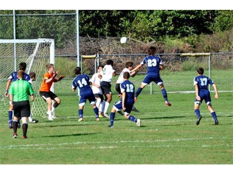 DGS Boys Soccer Defense at it's finest.