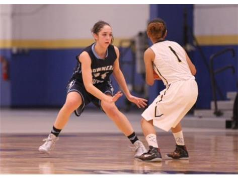 Addyson Wesolowski playing lock-down defense