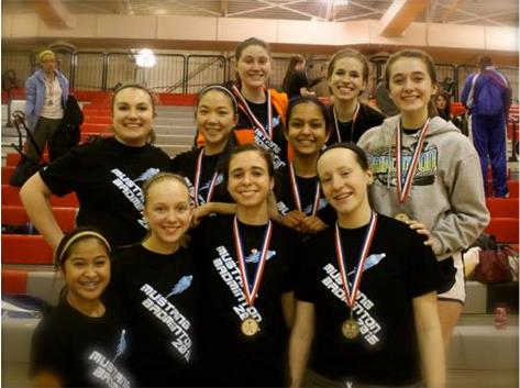 2nd Place - Palatine Invite, March 21, 2015