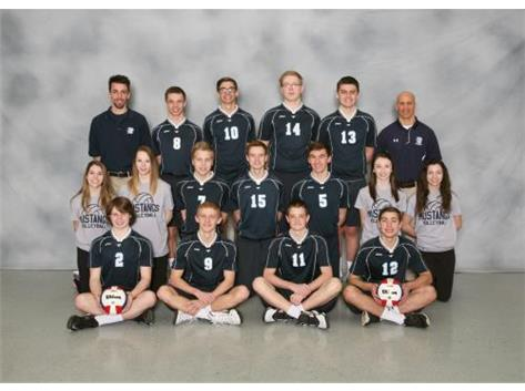 Sophomore Boys Volleyball 2015