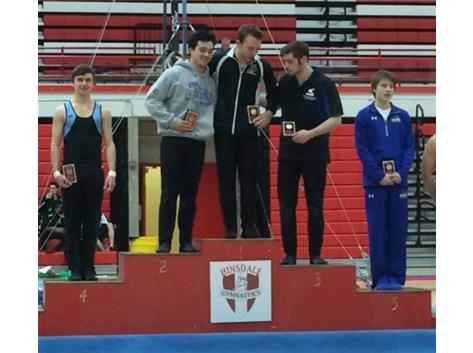 Canino Invite - Evan Baird, 4th Place All-Around