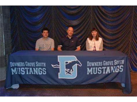 2015 All Signing Day ~ Tim Kargol, Coach Freischlag & Emily Binder