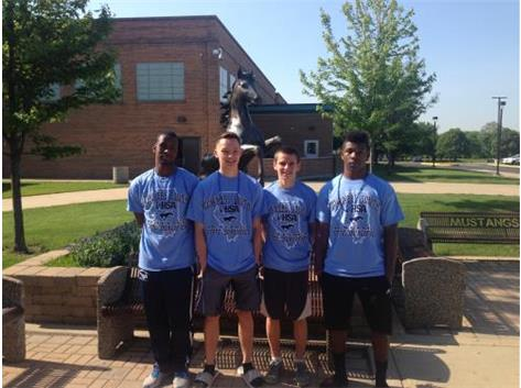 BOYS TRACK OFF TO STATE 2015