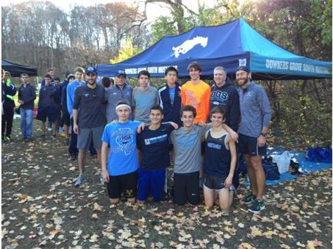 BOYS XC 13TH AT STATE 2015--BEST FINISH IN DGS HISTORY...FOR NOW
